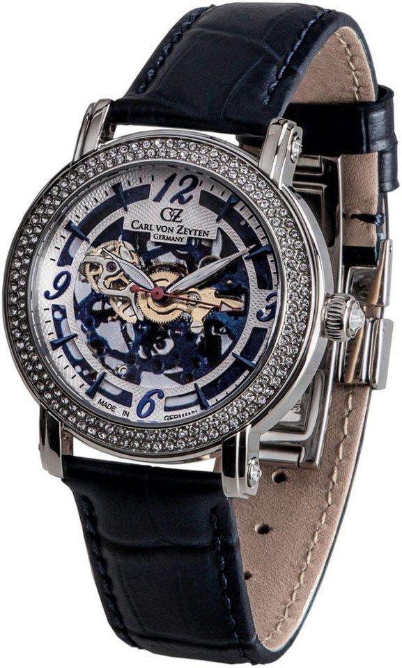Carl von Zeyten Automatikuhr »Wolfach, CVZ0061BL« Made in Germany | Uhren > Automatikuhren | Blau | Carl von Zeyten