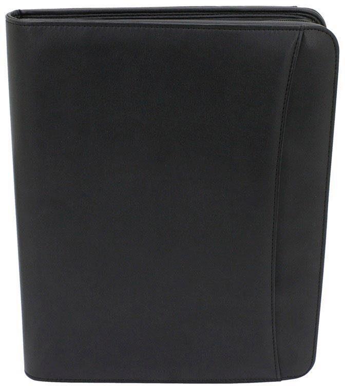 FRIEDRICH23 Schreibmappe DIN A4 mit hausnehmbarem Einleger, »Schwarz«