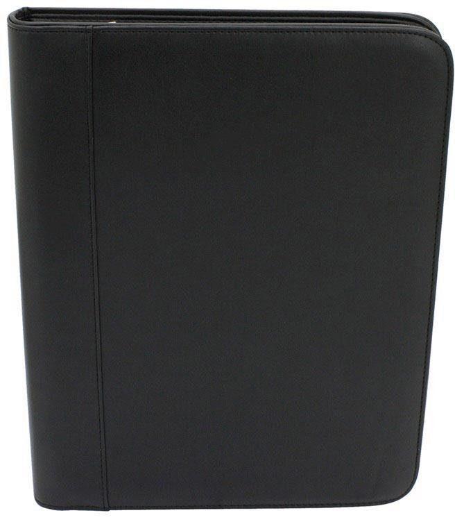 FRIEDRICH23 Schreibmappe DIN A4 mit Taschenrechner, »Schwarz«