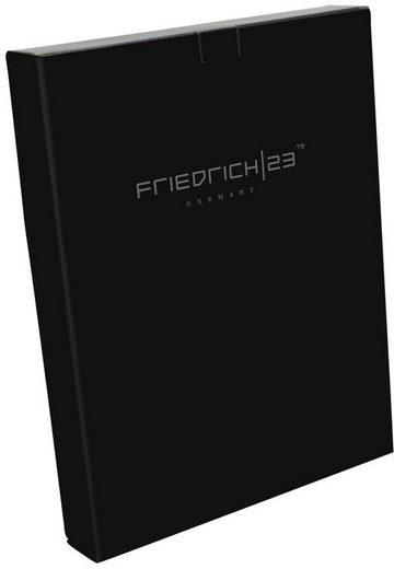 »schwarz« Friedrich23 Din Reißverschluss Schreibmappe A4 Mit SaqP6av