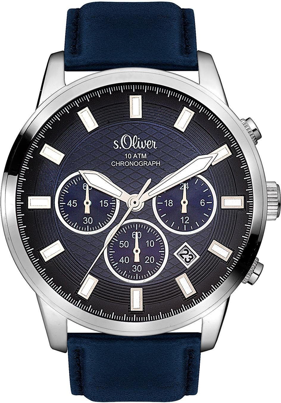 s.Oliver RED LABEL Chronograph »SO-3336-LC«