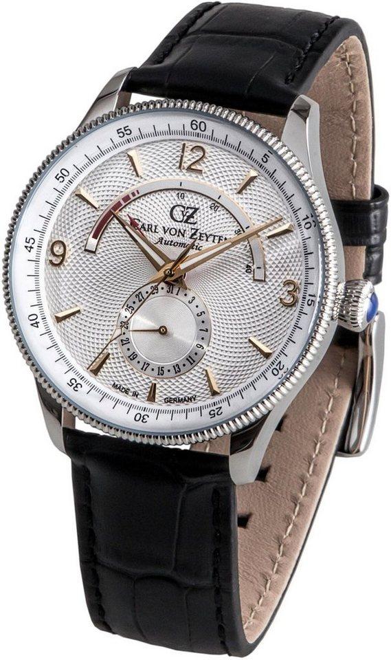 Carl von Zeyten Automatikuhr »Neuschwanstein, CVZ0032WH« Made in Germany | Uhren > Automatikuhren | Schwarz | Carl von Zeyten