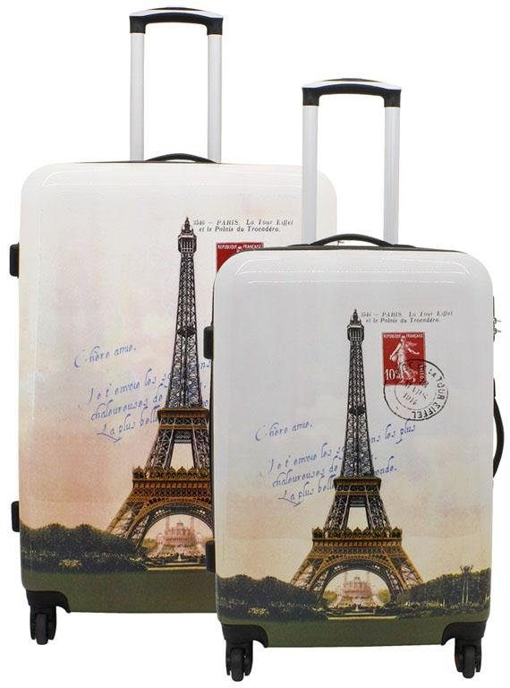 F23™ Hartschalentrolley-Set, 2-tlg., »Paris«