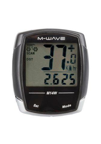 M-WAVE Dviračio kompiuteris »M14W«