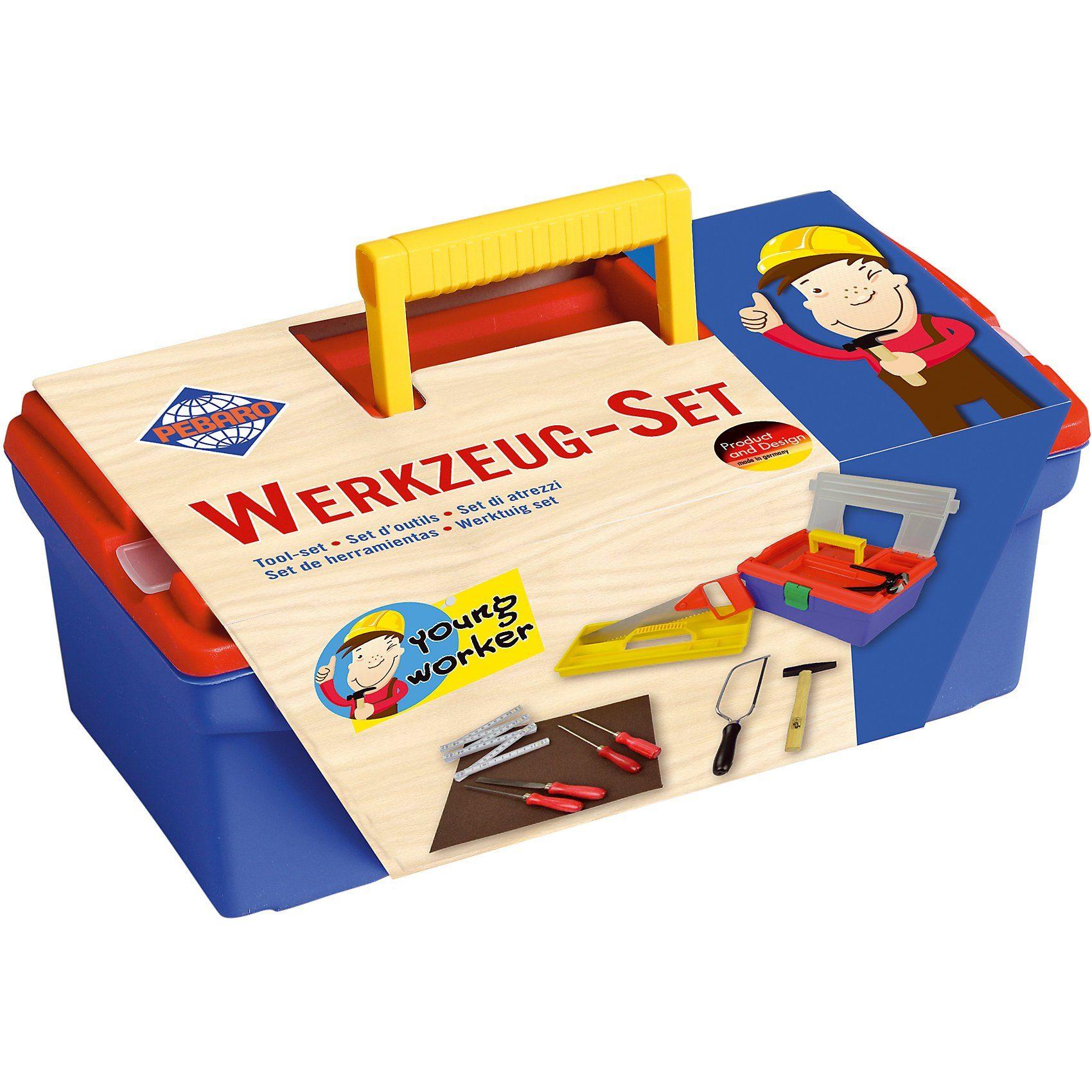 Pebaro Werkzeug-Set im Plastikkoffer