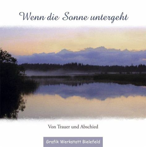 Gebundenes Buch »Wenn die Sonne untergeht«