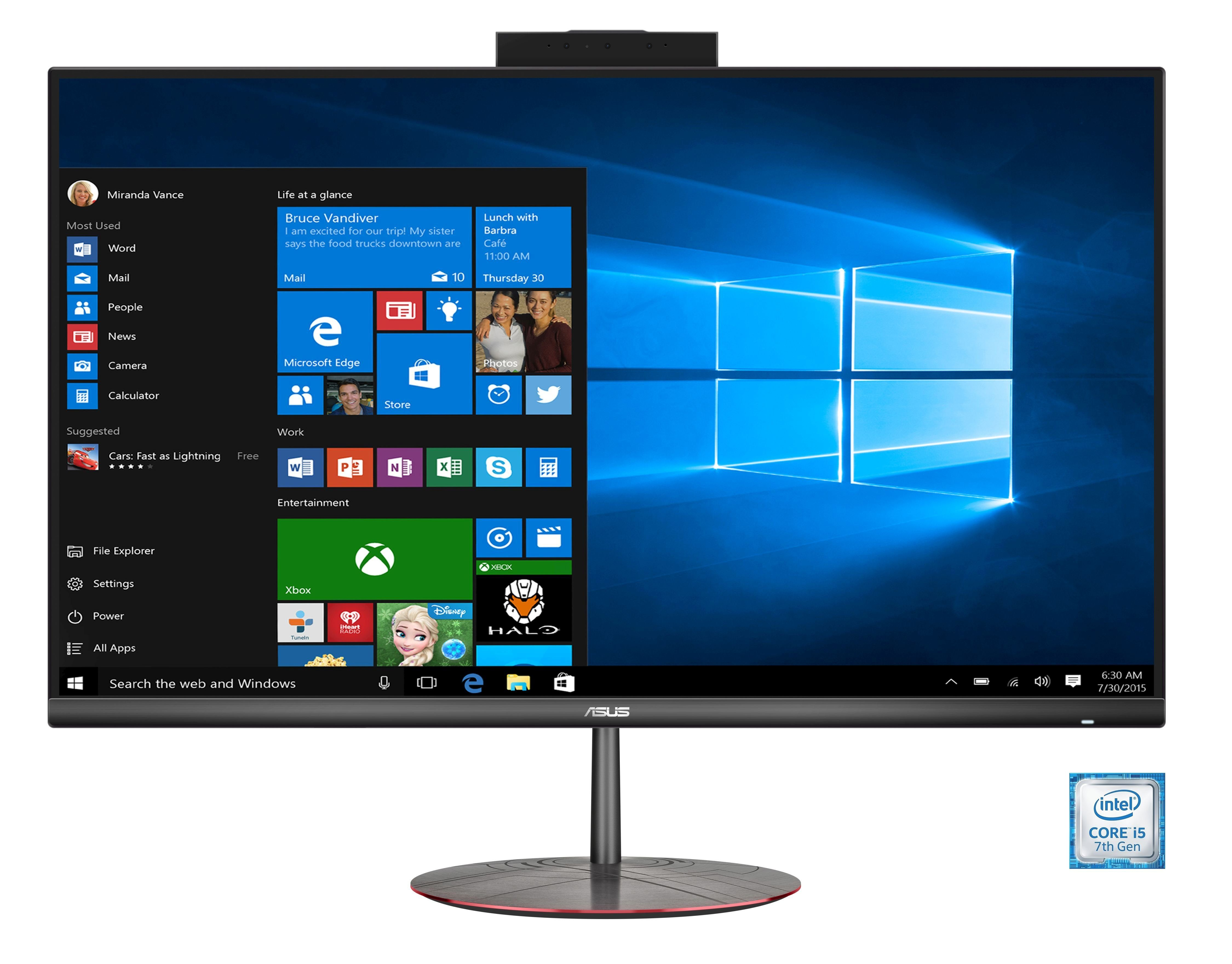 """ASUS ZN242IFGT-BA057T All-in-One PC »Intel Core i5, 60,4 cm(23,8"""")256 GB+1 TB HDD,16 GB«"""