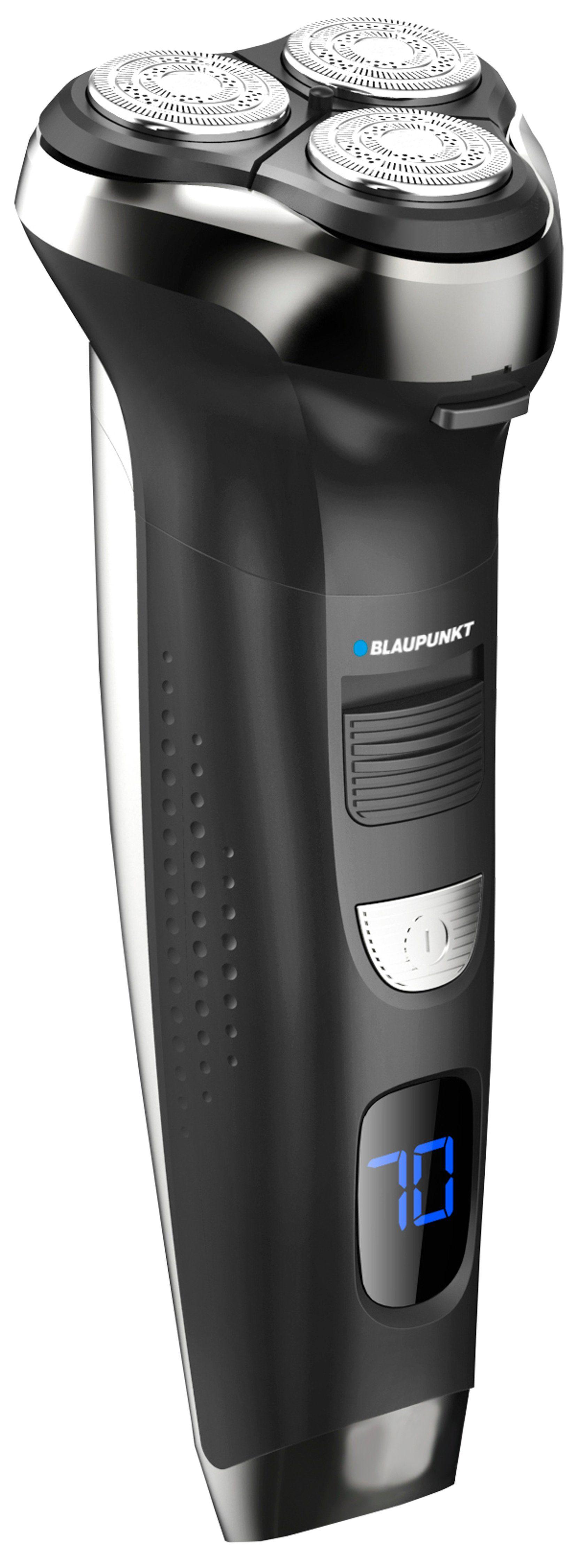 Blaupunkt Rotationsrasierer, Trimmer, Haarschneider mit LED-Display »MSR801«