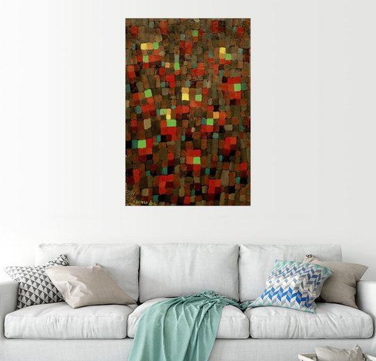 Posterlounge Wandbild - Paul Klee »Wie ein Glasfenster«