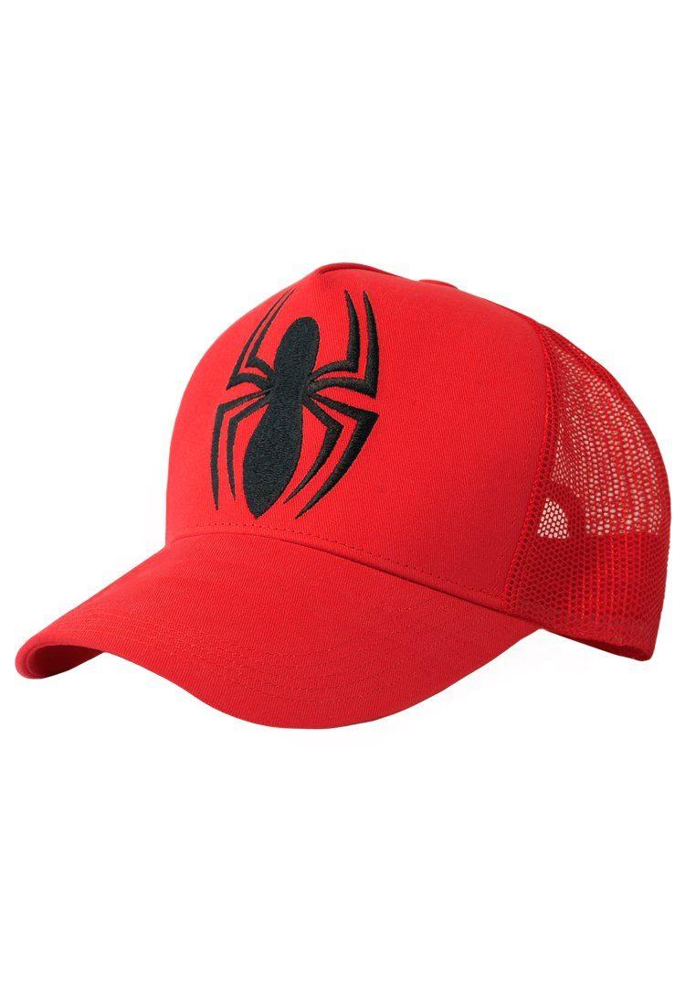 LOGOSHIRT Kappe mit Spiderman-Logo