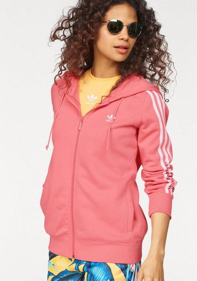 d531178f43f7 adidas Originals Kapuzensweatjacke »3 STRIPES ZIP HOODIE« online kaufen    OTTO