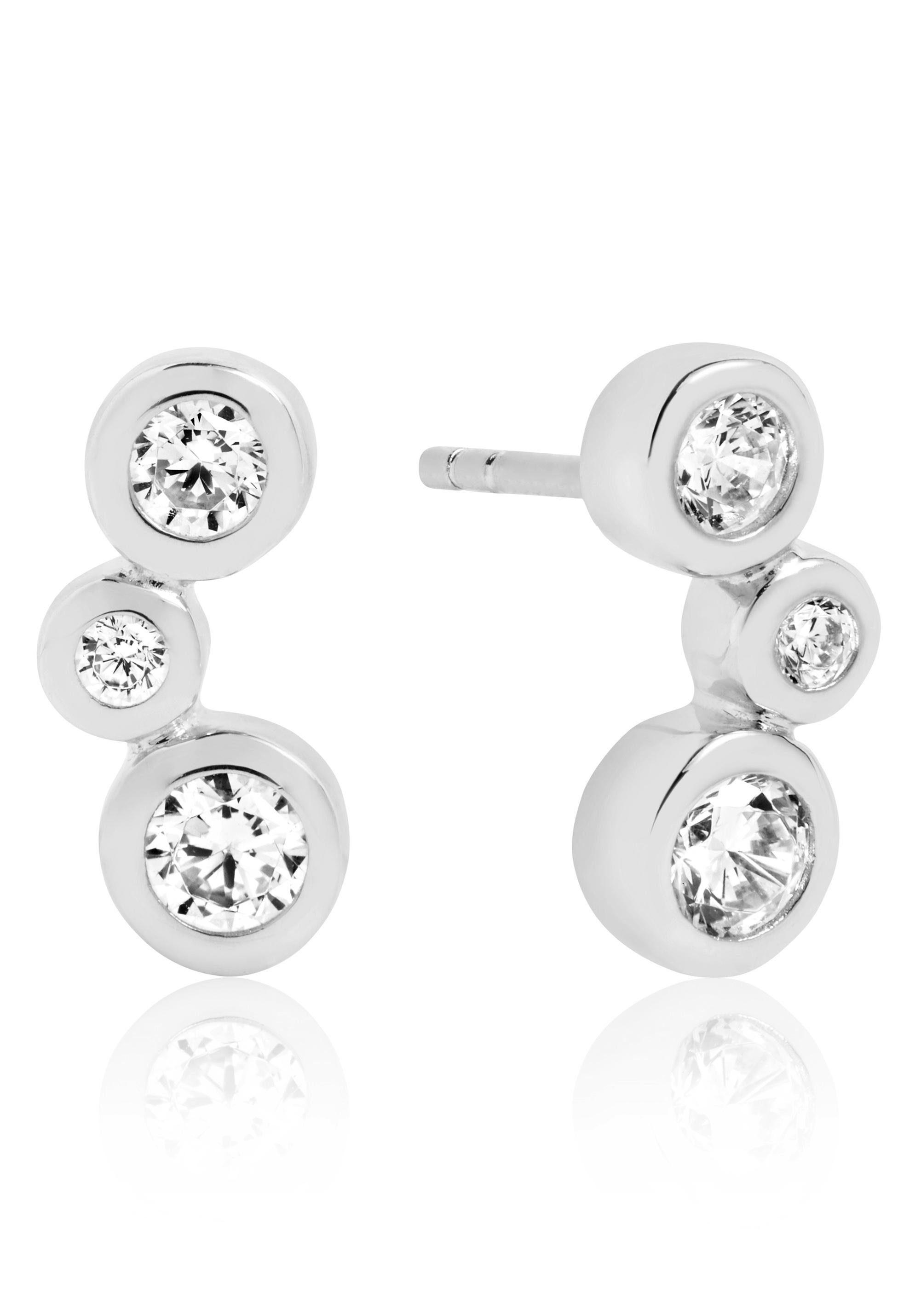 Sif Jakobs Jewellery Paar Ohrstecker »Sardinien altro earrings, SJ-E2552(3)-CZ« mit Zirkonia