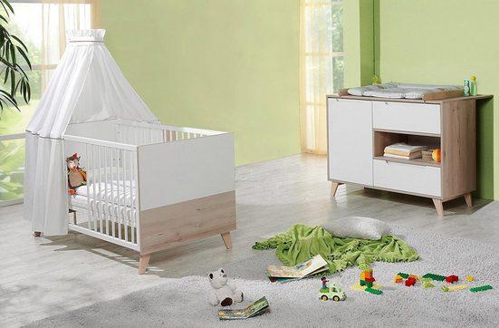 Geuther Babymöbel-Set »METTE birdie buche, 2-tlg.«, (Spar-Set, 2-tlg)