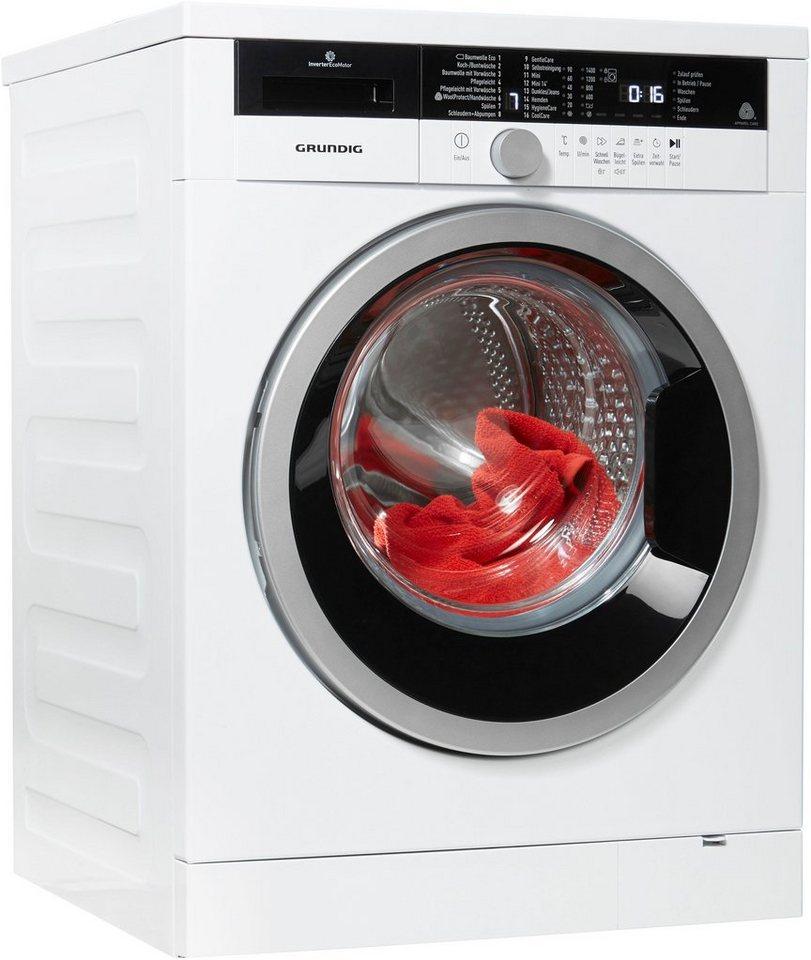grundig waschmaschine gwa 38431 8 kg 1400 u min. Black Bedroom Furniture Sets. Home Design Ideas
