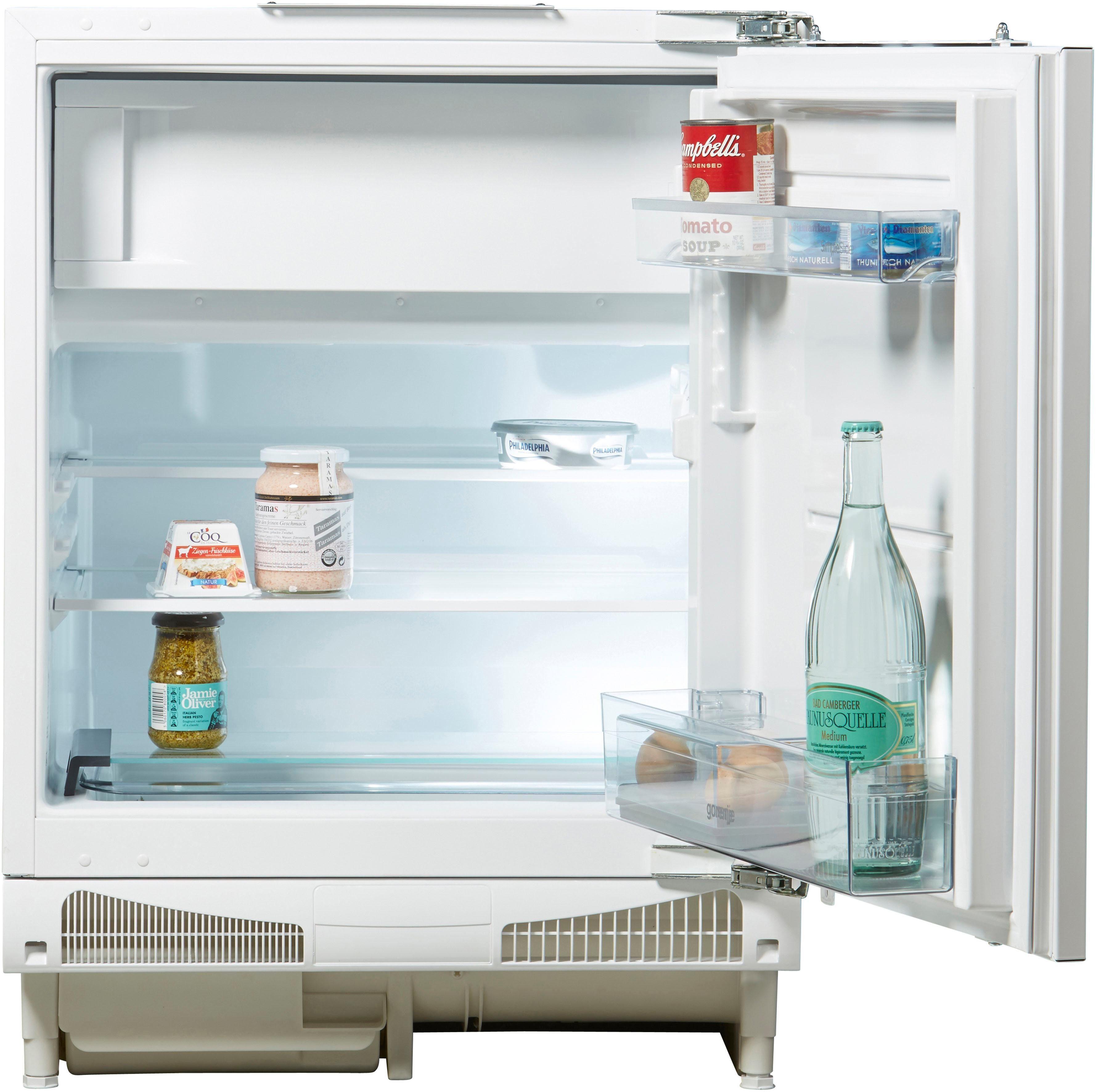 GORENJE Einbaukühlschrank RBIU6092AW, 82 cm hoch, 59,6 cm breit