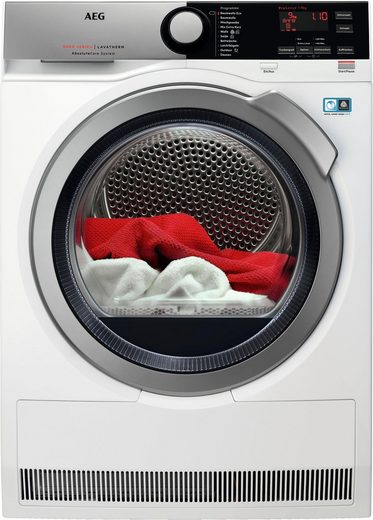 AEG Wärmepumpentrockner 8000 T8DE76595, 9 kg, AbsoluteCare für Wolle, Seide, Outdoor