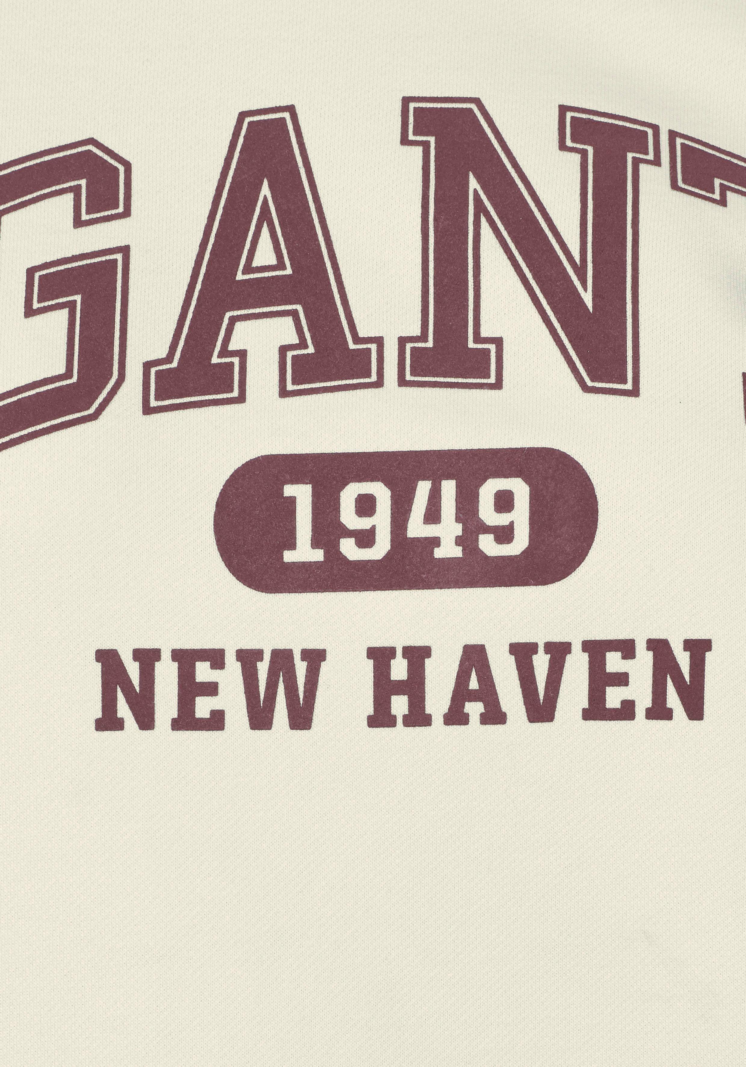 Gant Mit Modischem Logo print Sweater 77qawP6