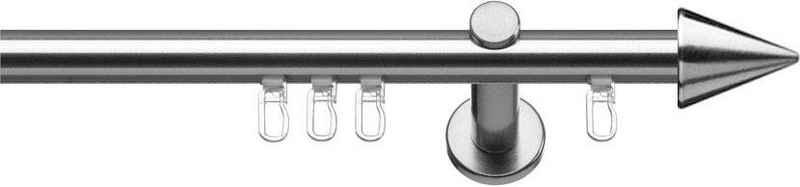 Gardinenstange »Calais«, indeko, Ø 16 mm, 1-läufig, Wunschmaßlänge