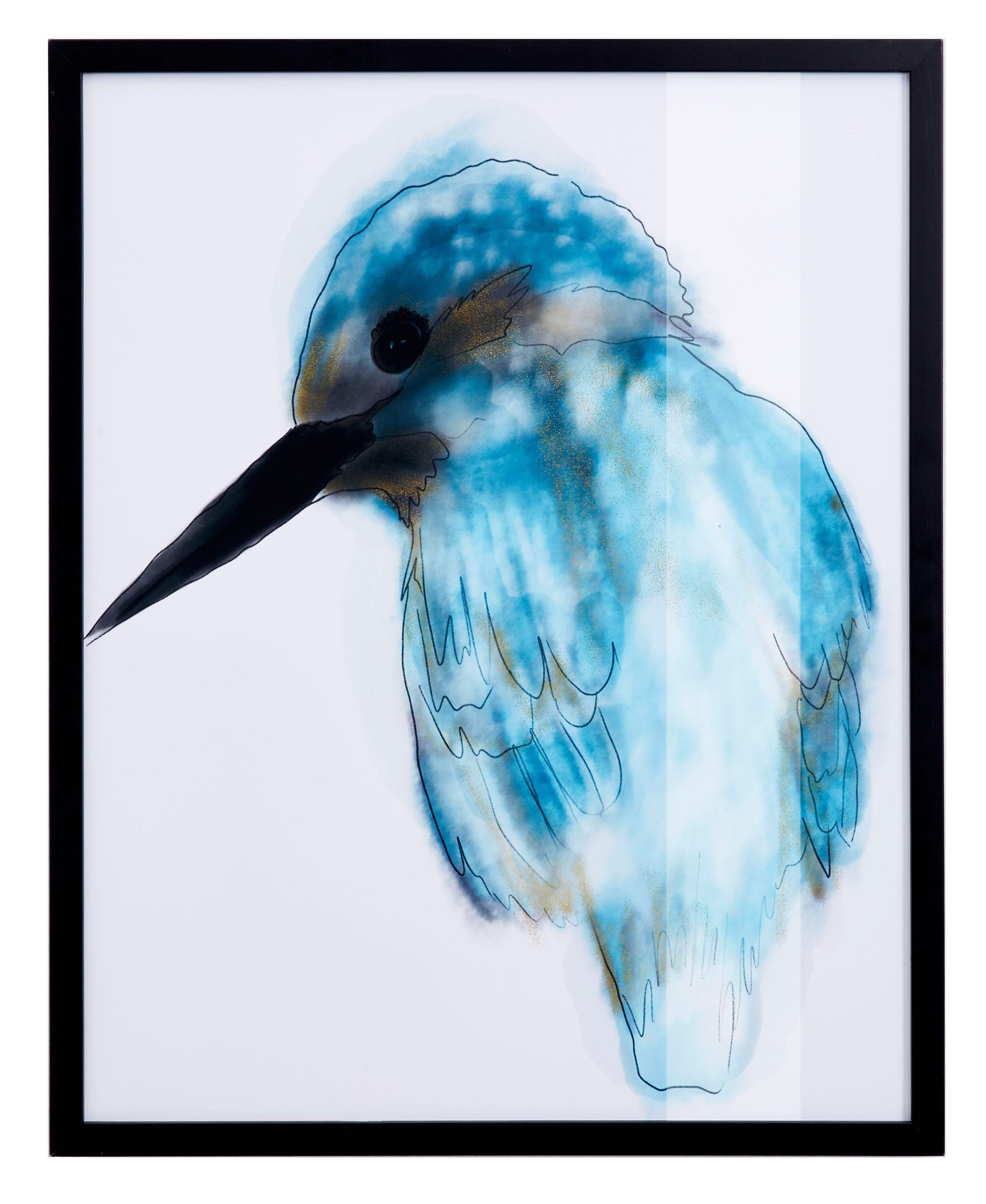 Graue Gestaltung Von Dem Flur Mit Wanddeko Bilderrahmen: Eisvogel Preisvergleich • Die Besten Angebote Online Kaufen