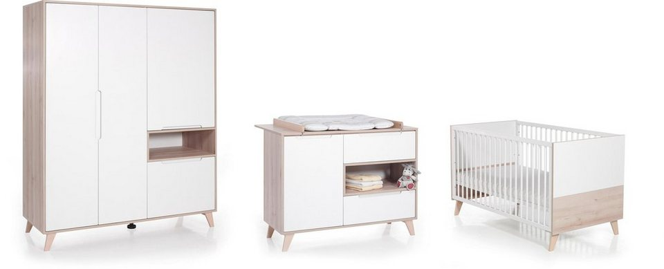 Geuther Babyzimmer Set 3 Tlg Kinderzimmer Mette Online Kaufen