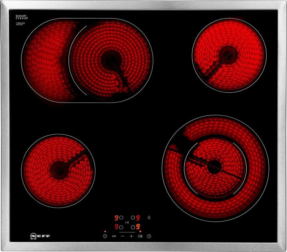 neff elektro kochfeld von schott ceran tb1842n t18b42n2 online kaufen otto. Black Bedroom Furniture Sets. Home Design Ideas
