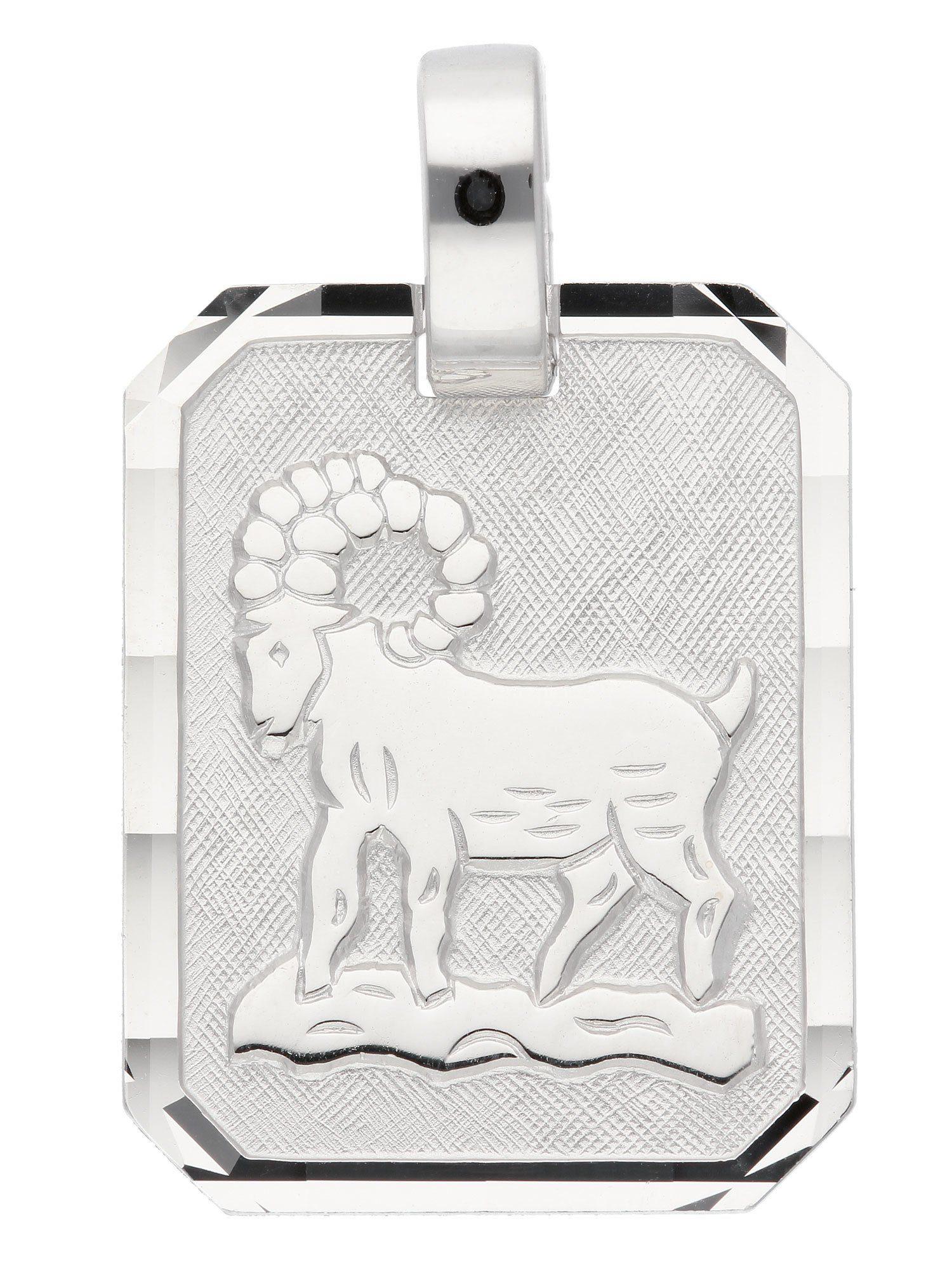 Adelia´s Kettenanhänger »Sternzeichen Silber Anhänger«, Widder