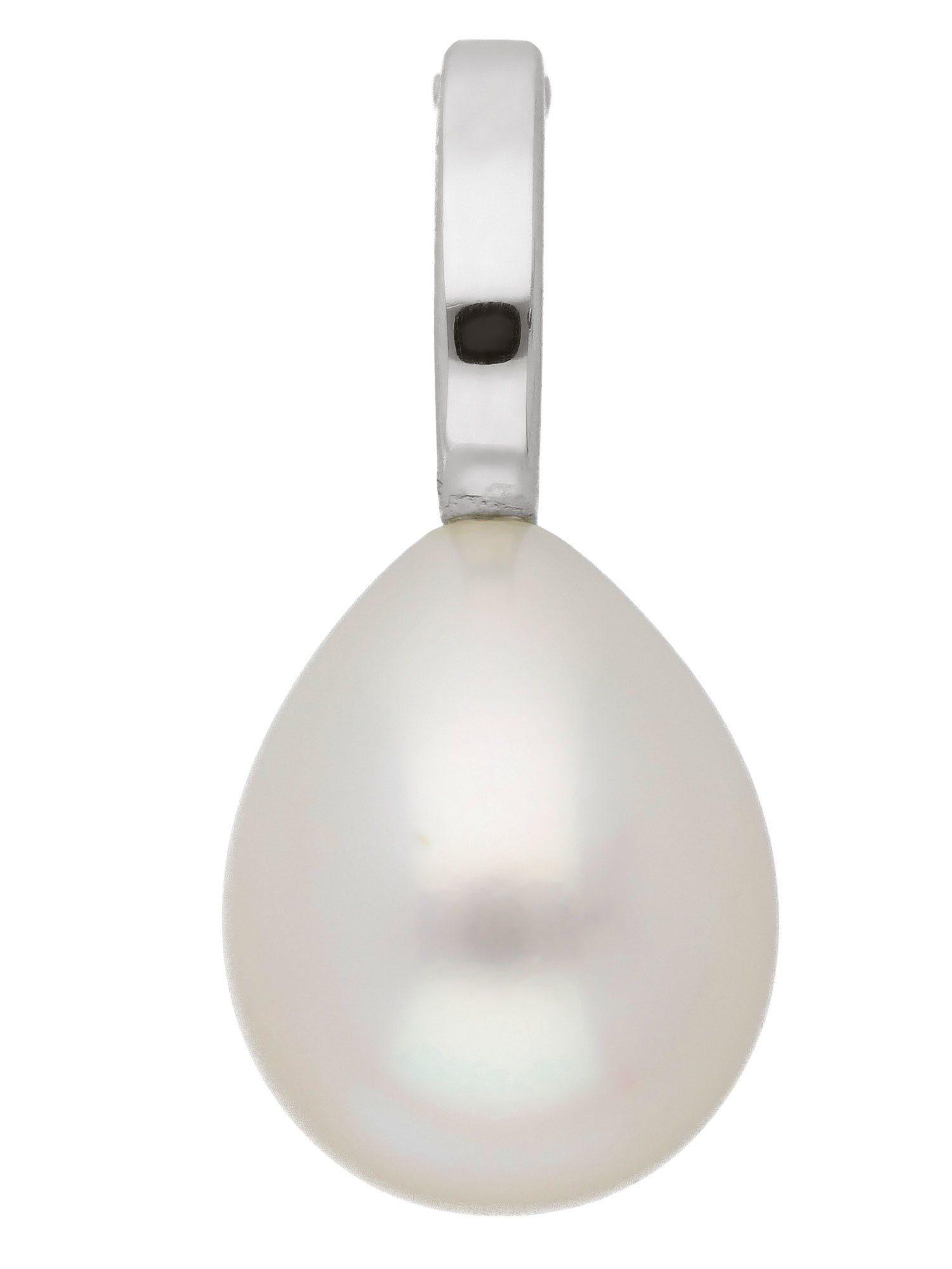 Adelia´s Kettenanhänger »Weißgold Anhänger«, 14 k 585 mit Süßwasserperle