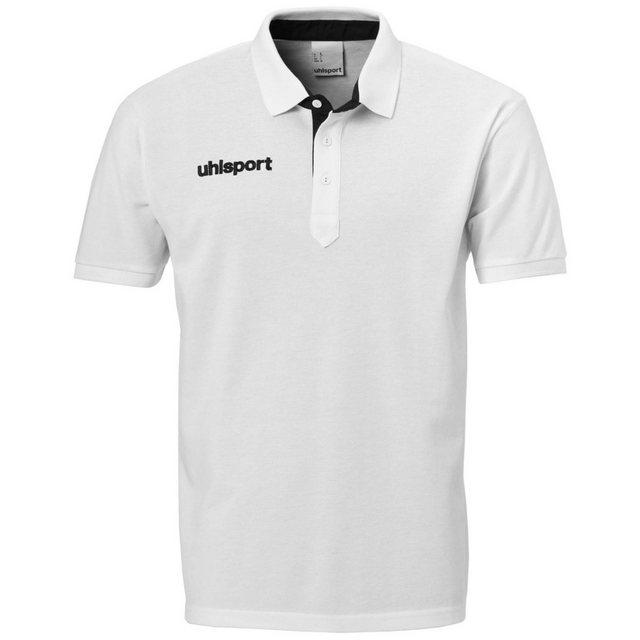 Uhlsport Essential Prime Poloshirt Herren | Sportbekleidung > Sportshirts > Poloshirts | Weiß | Polyester - Baumwolle | Uhlsport
