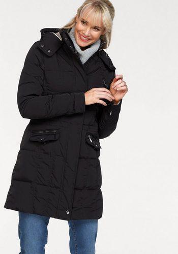 Damen Danwear Steppjacke Down-Touch, in der Taille zu verstellen schwarz | 05710289045924