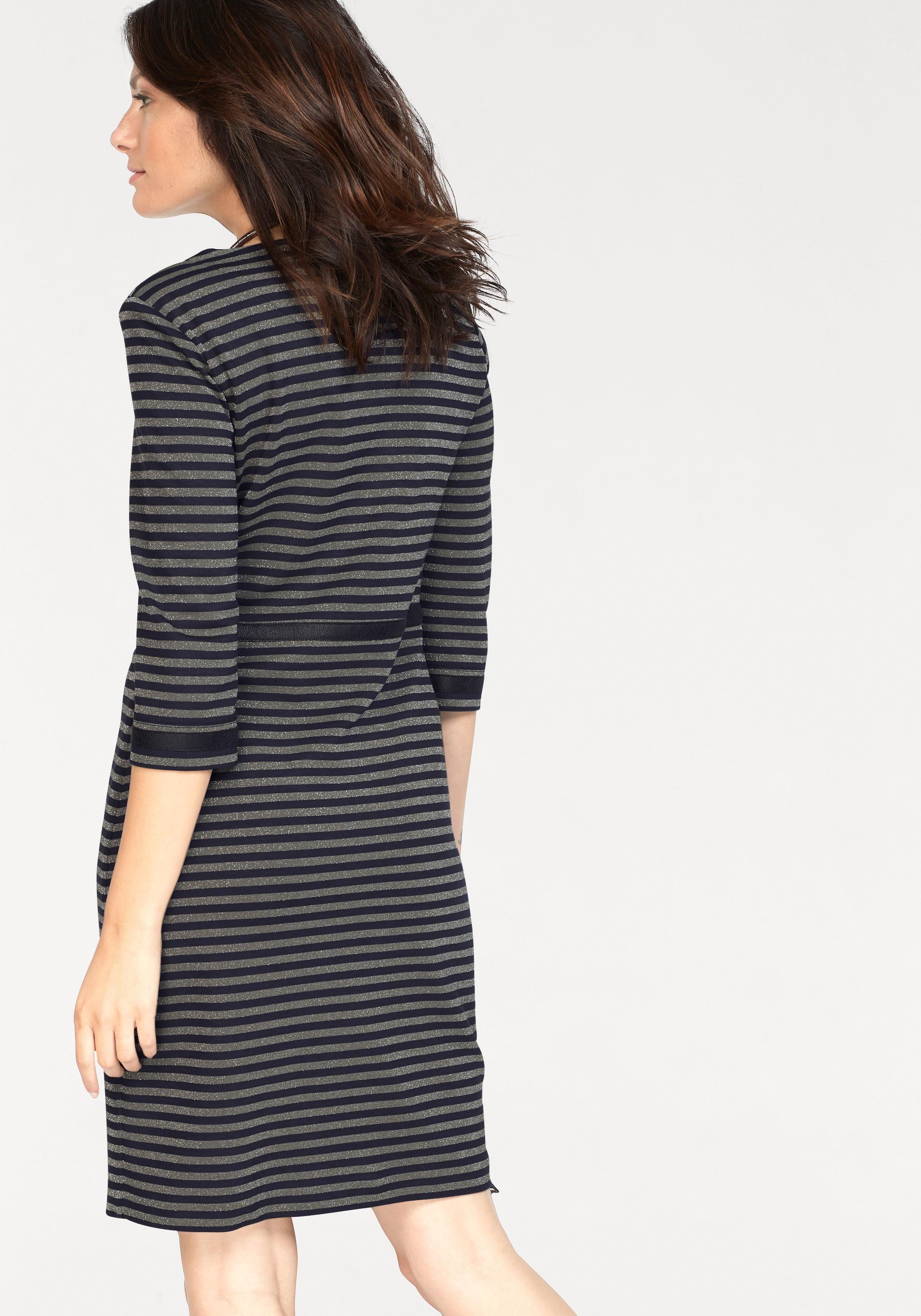 Jerseykleid Bianca Streifen »dany« Mit Glitzernden PikXZu