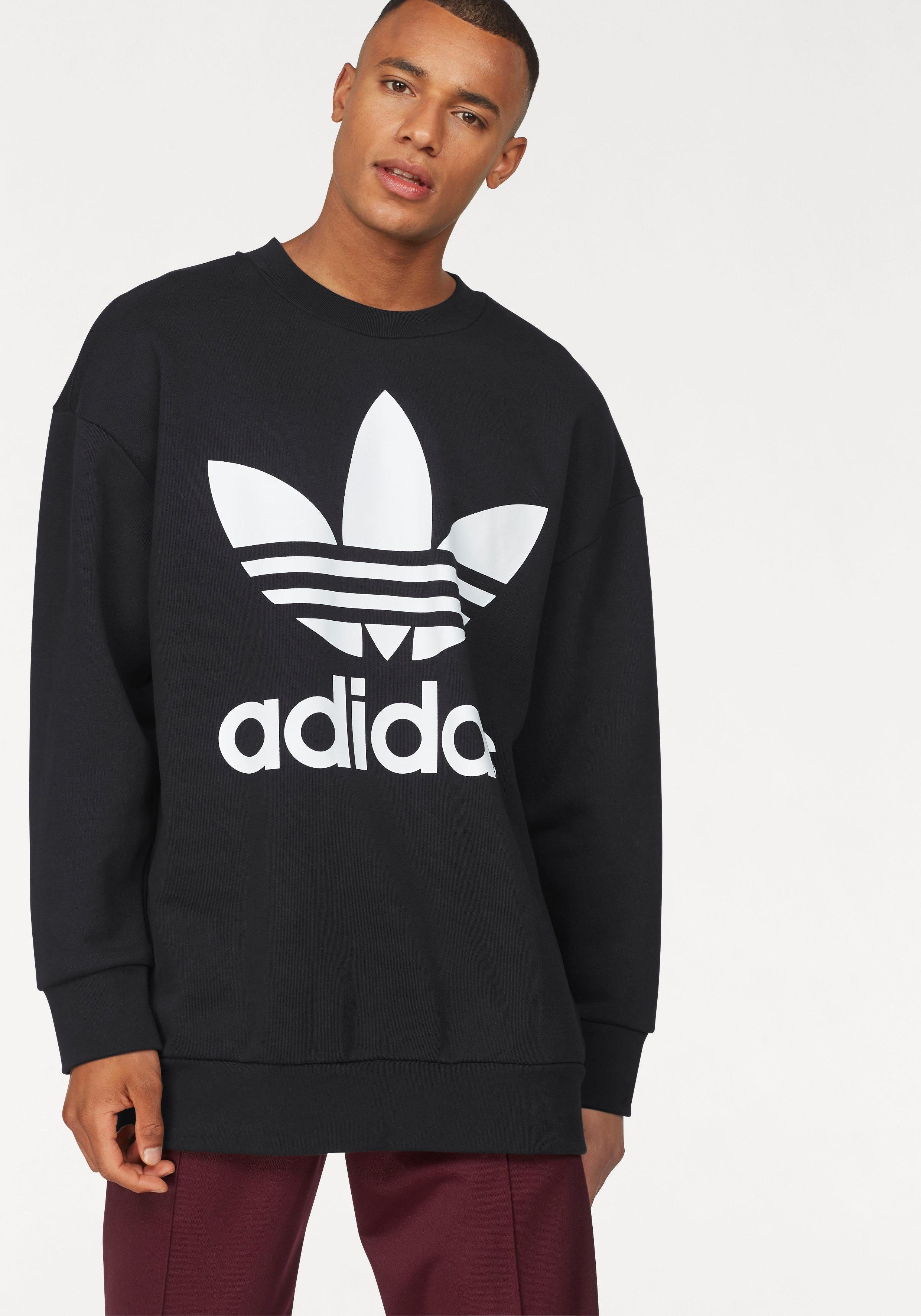 adidas Originals Sweatshirt »TREFOIL OVER CREW« | OTTO