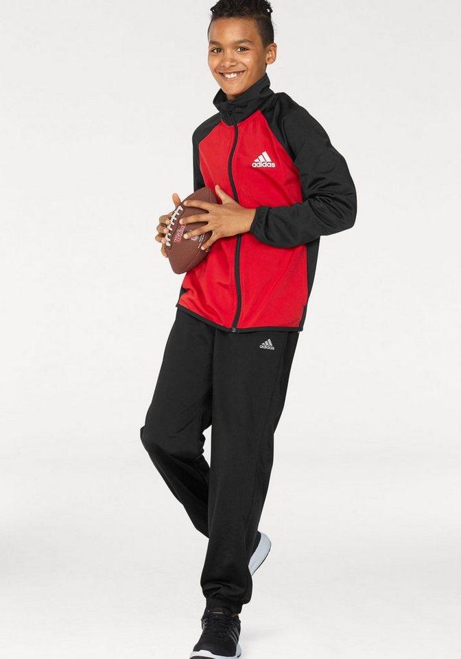 adidas Performance Trainingsanzug »TRACKSUIT ENTRY CH« (Packung, 2 tlg)