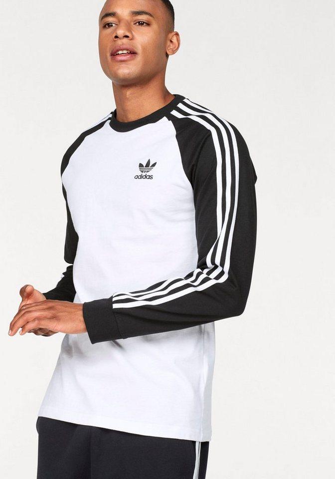 1d6a164d916a adidas Originals Langarmshirt »3 STRIPES LONGSLEEVE TEE« online ...