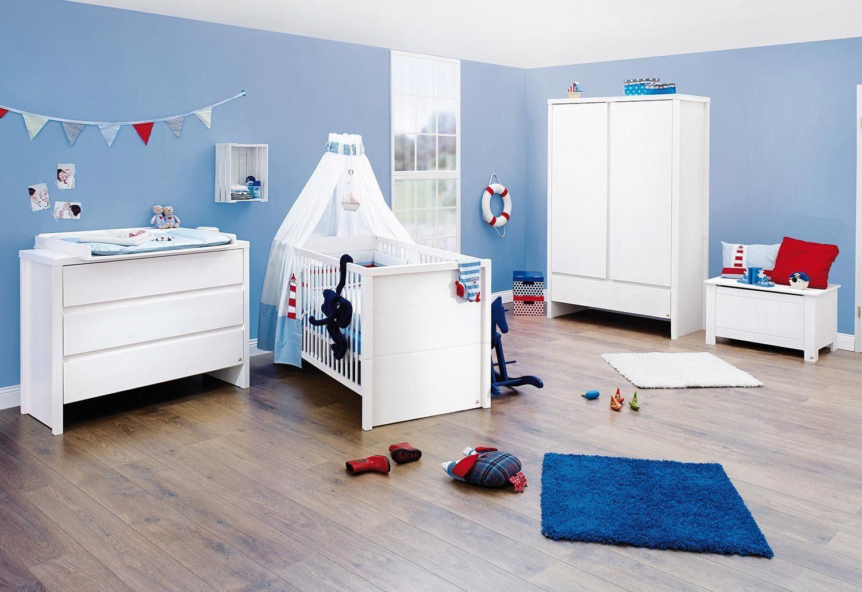Pinolino Babyzimmer-Set (3-tlg.), Kinderzimmer, »Aura, breit«