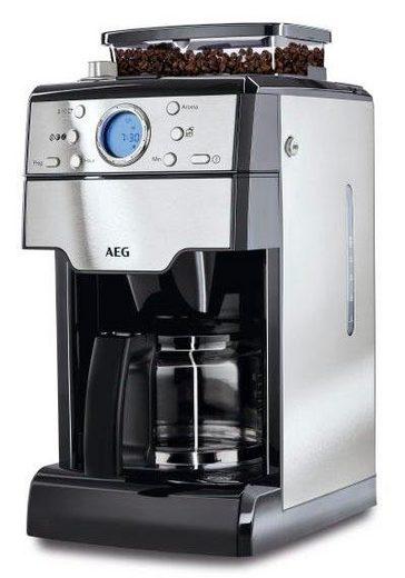 aeg kaffeemaschine mit mahlwerk kam 300 1 3l kaffeekanne papierfilter 1x4 online kaufen otto. Black Bedroom Furniture Sets. Home Design Ideas