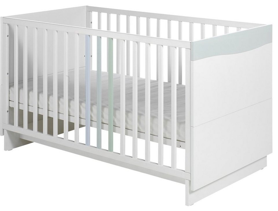geuther kinderbett wave pastell online kaufen otto. Black Bedroom Furniture Sets. Home Design Ideas
