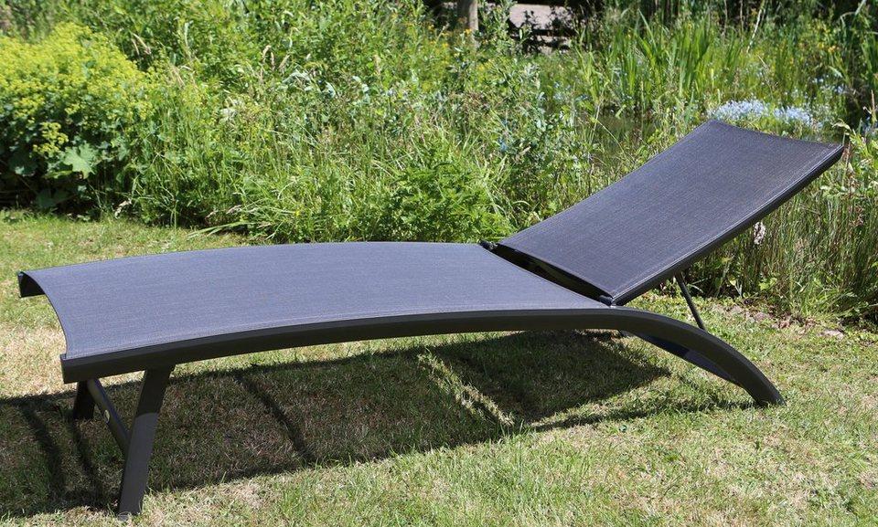destiny gartenliege palm springs alu textil klappbar verstellbar online kaufen otto. Black Bedroom Furniture Sets. Home Design Ideas