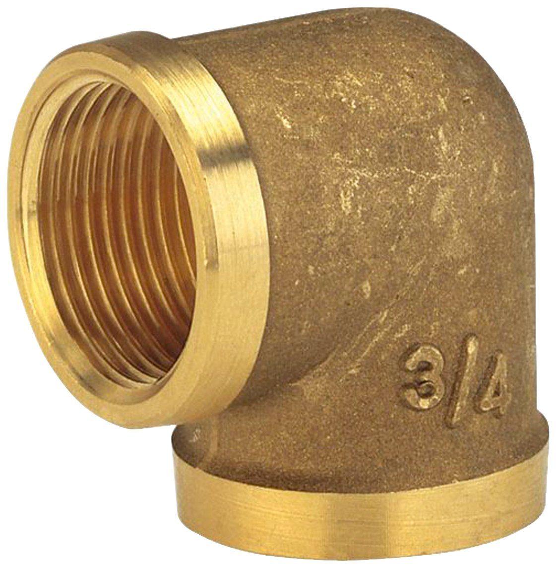 GARDENA Winkelverschraubung »07280-20«, Messing, 26,5 mm (G 3/4)-Innengewinde