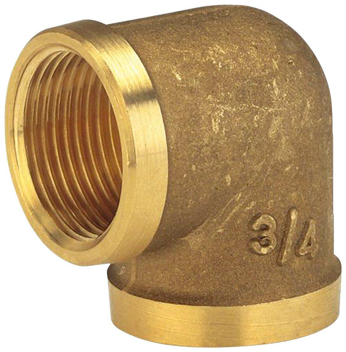 GARDENA Winkelverschraubung , Messing, 33,3 mm (G 1)-Innengewinde