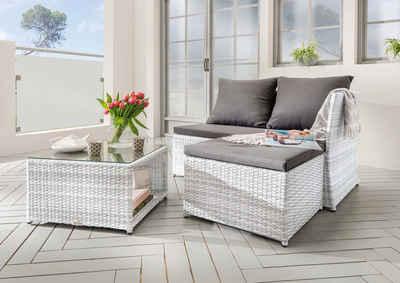 Balkonmöbel set weiß  Gartenmöbel-Set weiß online kaufen | OTTO