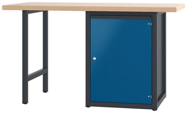 PADOR Werkbank »700.0.41 S 4« | Baumarkt > Werkbank | Blau | PADOR