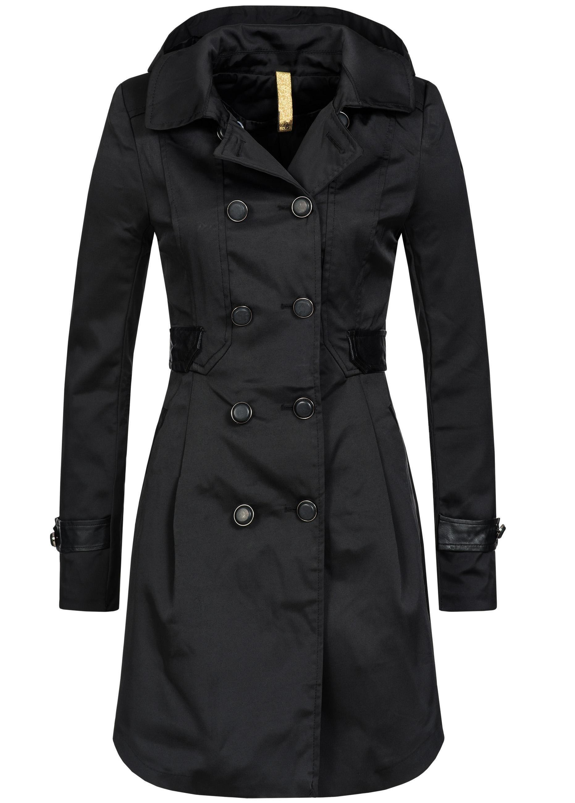 PEAK TIME Trenchcoat »V5605«, edler Mantel in klassischem Style | Bekleidung > Mäntel > Trenchcoats | PEAK TIME