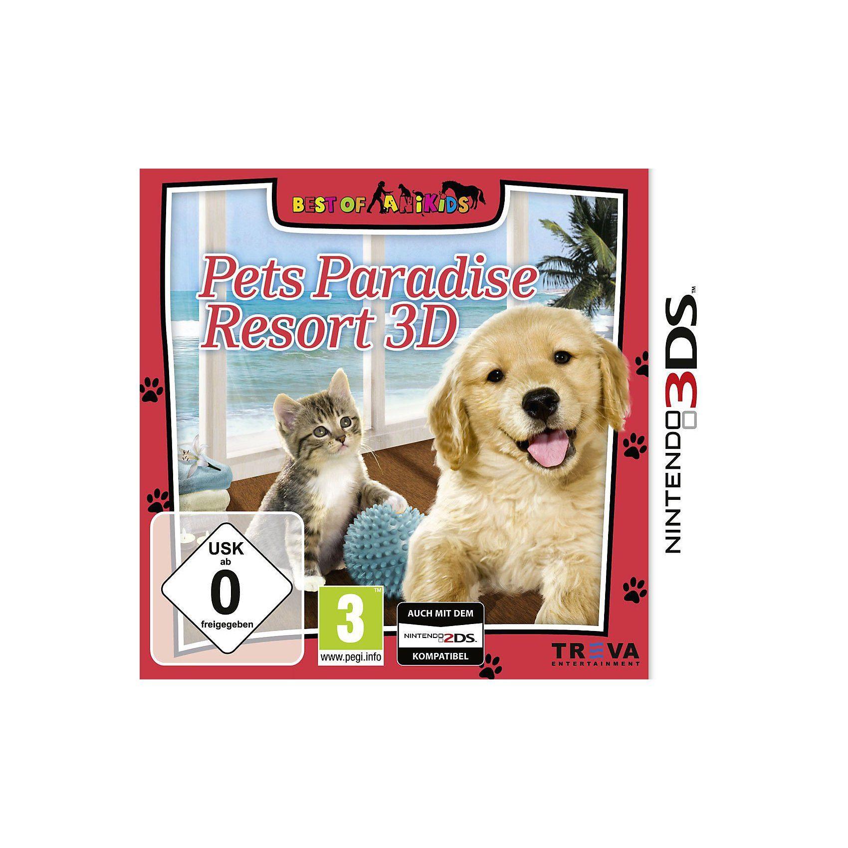 3DS Pets Paradise Resort 3D (Best of)