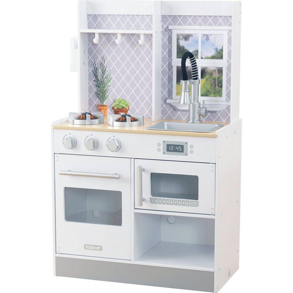 KidKraft® Spielküche Let& 39;s Cook aus Holz kaufen
