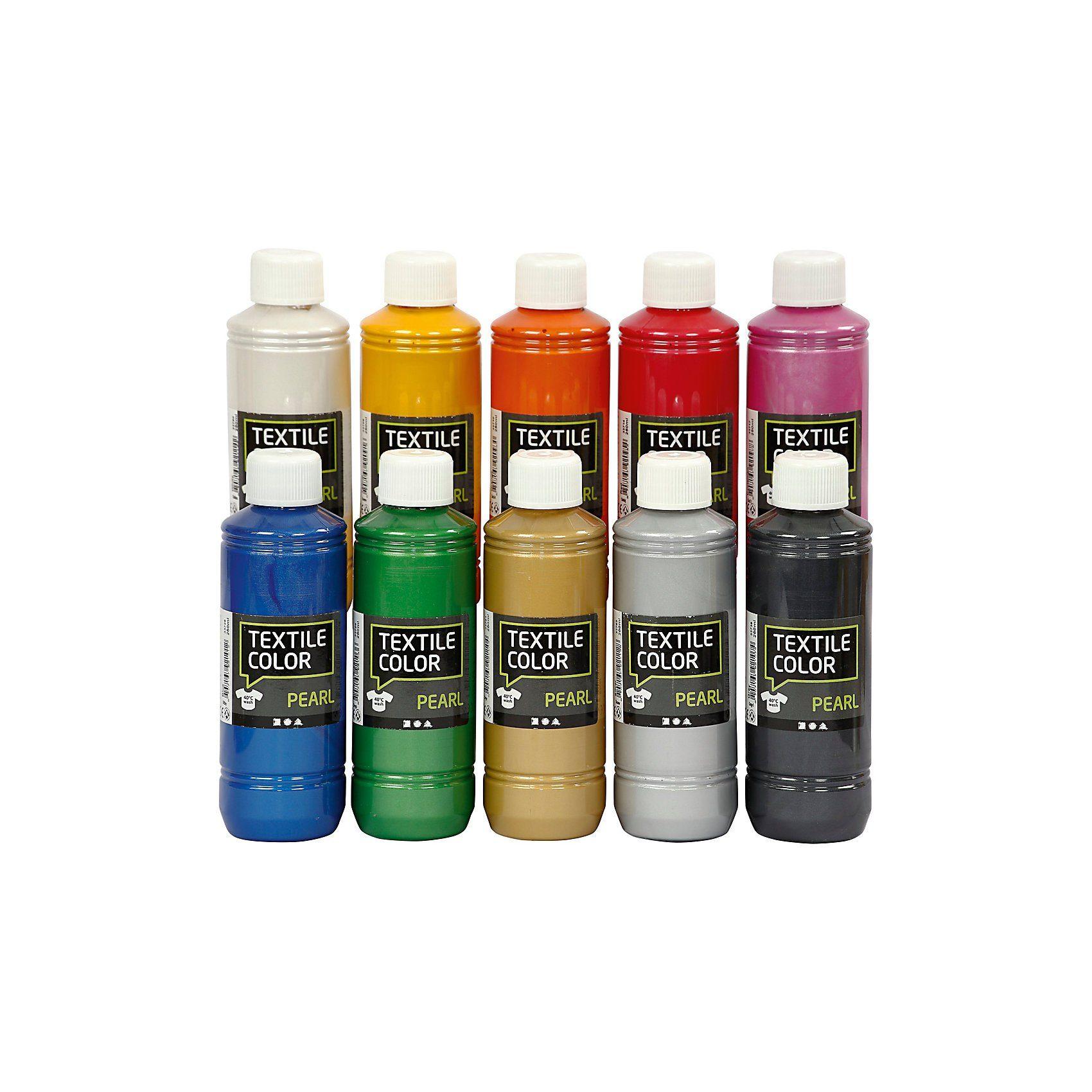 Textile Color Pearl, 10x250ml