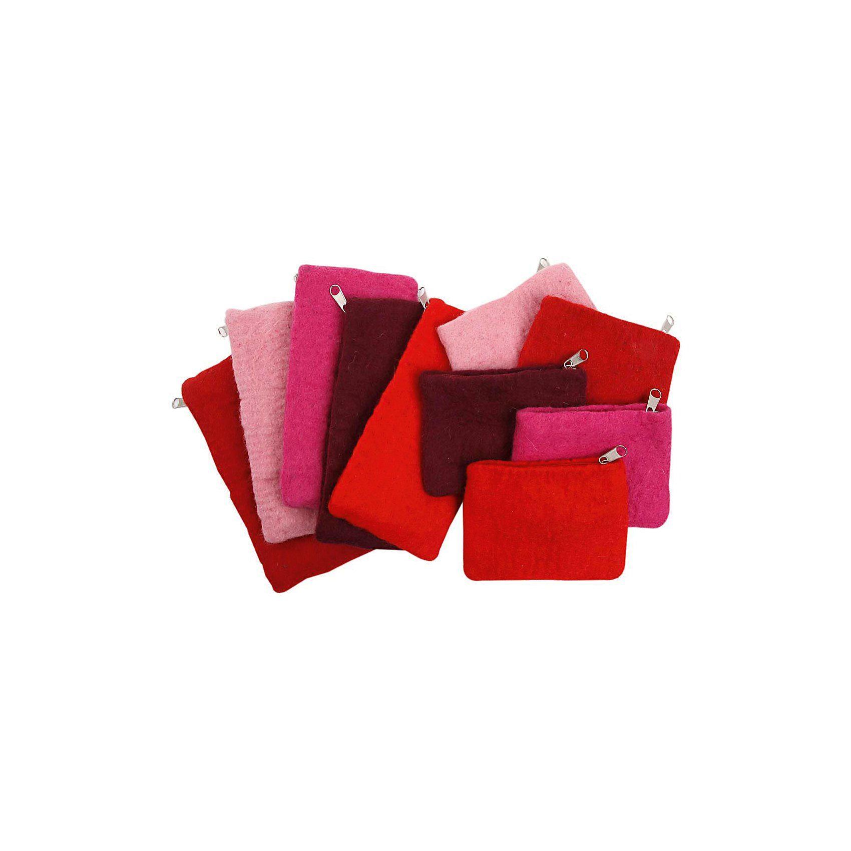 Federtaschen und Geldbeutel, Größe 20x9 cm, Größe 10x13 cm