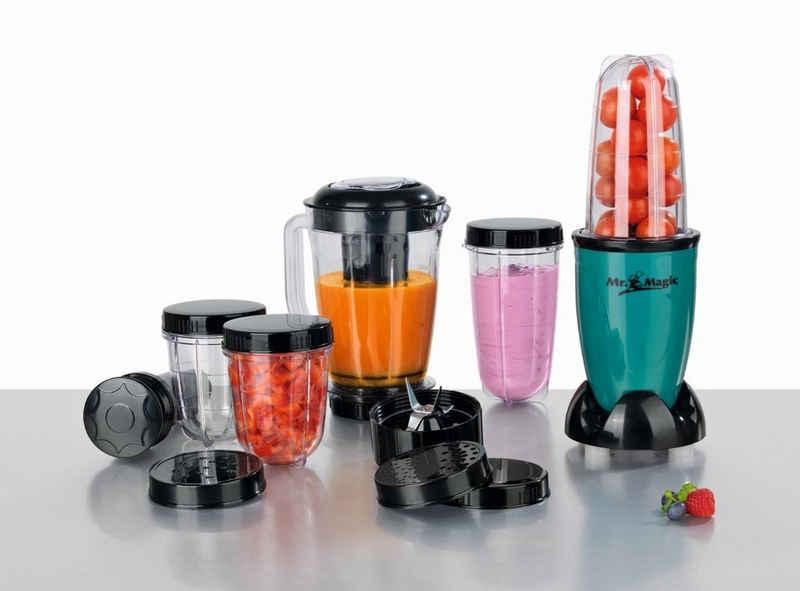 GOURMETmaxx Küchenmaschine, Mixer 18-teilig