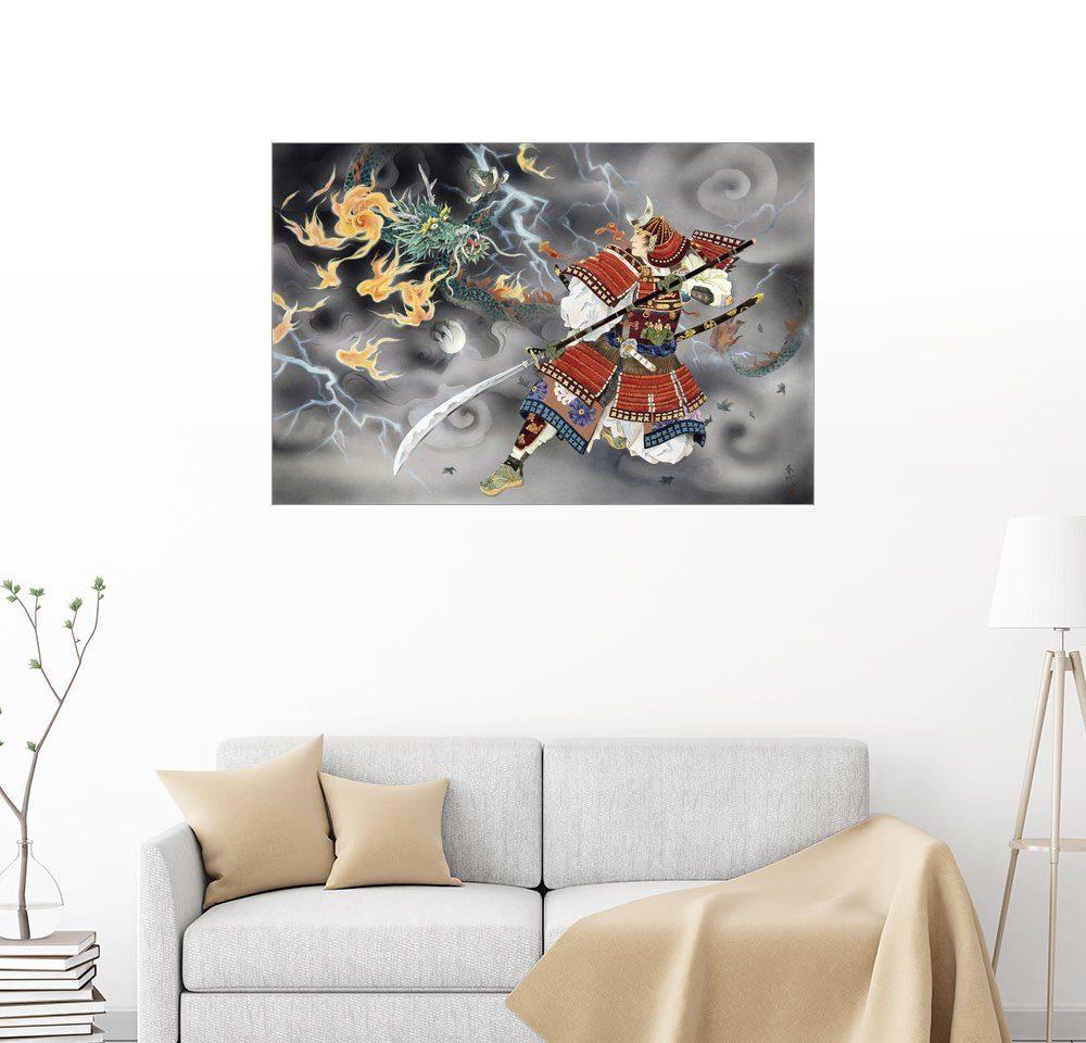 Posterlounge Wandbild - Haruyo Morita »Tatakai«
