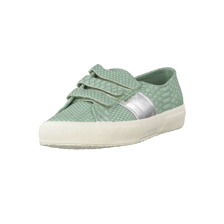 Superga 2750 PUSNAKE3STRAPW S00CJY0-N67 Sneaker  green