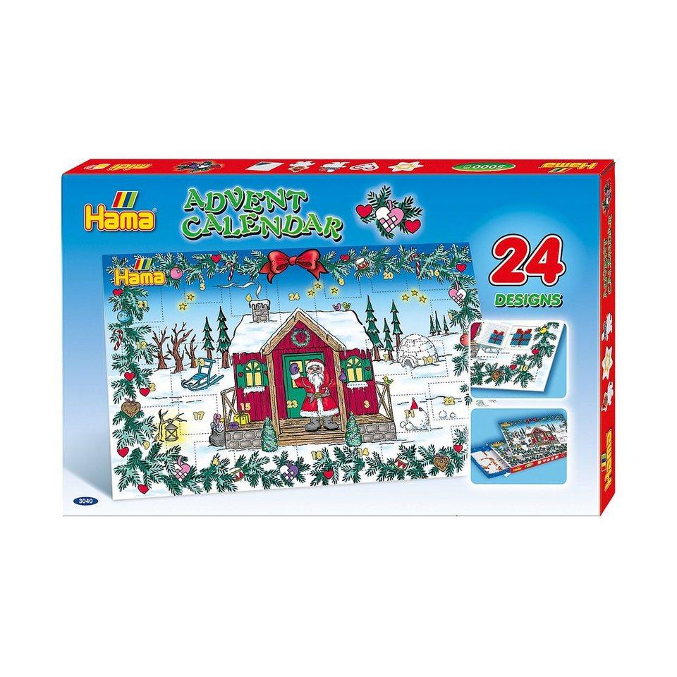 Hama Perlen HAMA 3040 Bügelperlen-Adventskalender, 5.000 midi-Perlen & Z online kaufen